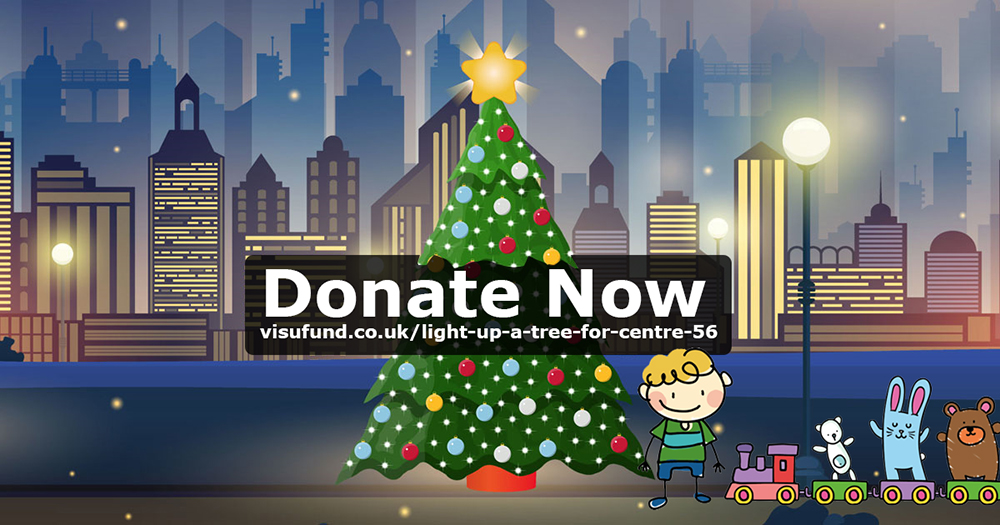 Donate to the Centre 56 Light Up A Christmas Tree Fundraiser